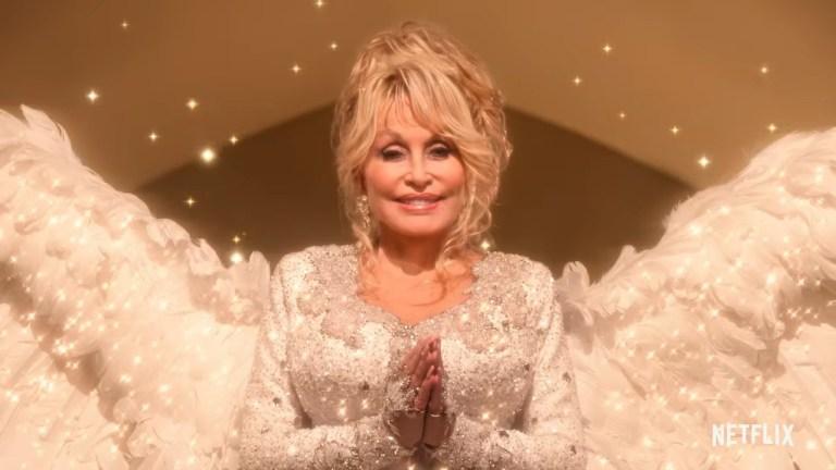 Dolly Parton christmas movie tralier