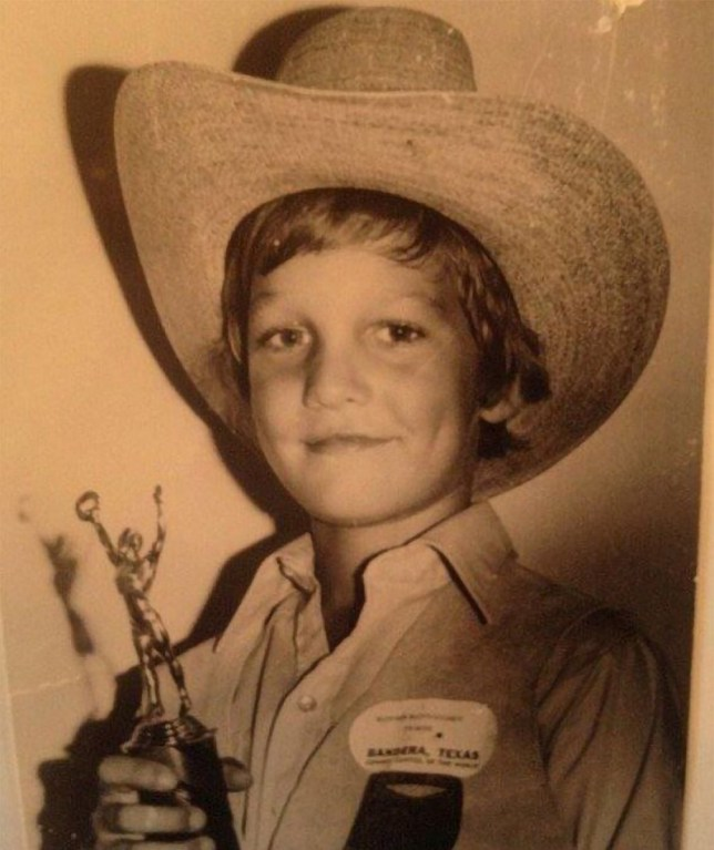 Picture: (Do not credit) Matthew McConaughey learned he was only the runner up for Little Mr Texas