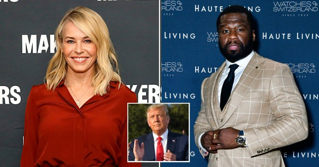 Chelsea Handler hits out at 50 Cent over Trump support