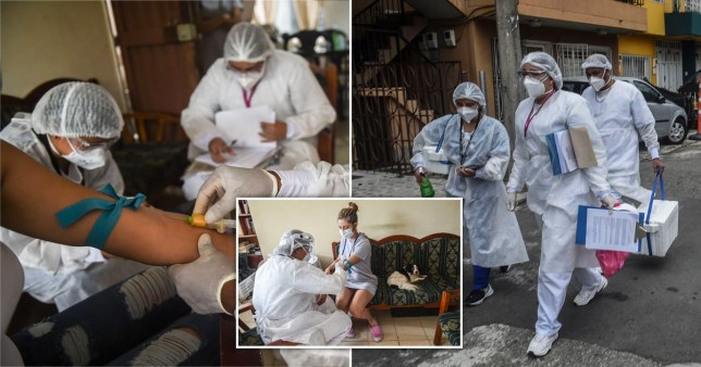 Colombia reaches 1 million Covid-19 cases.