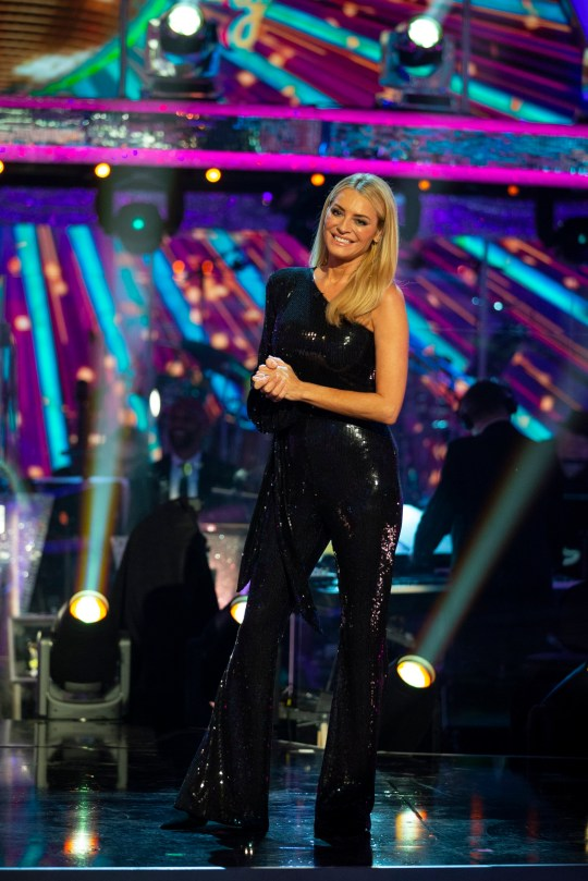 Strictly Come Dancing Tess Daly