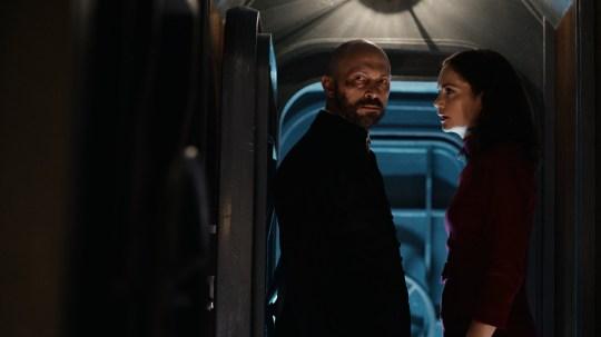 Will Keen and Ruth Wilson in His Dark Materials season 2