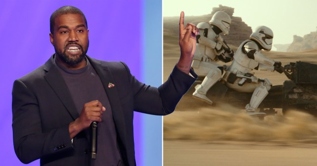 Kanye West really isn't a fan of the new Star Wars movies
