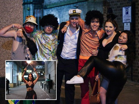 Students enjoy early Halloween parties as tier 3 looms in Nottingham