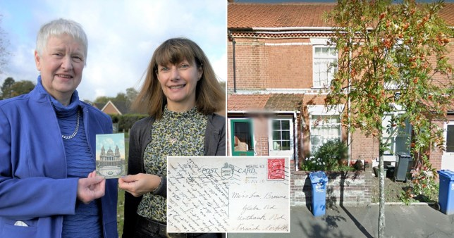 Card delivered 120 years late (Picture: Wessex News, Simon Parkin, Google)
