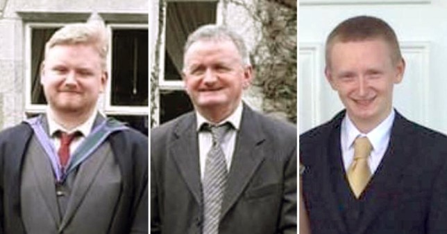 Picture: PA sons and father found dead in Co Cork, Ireland