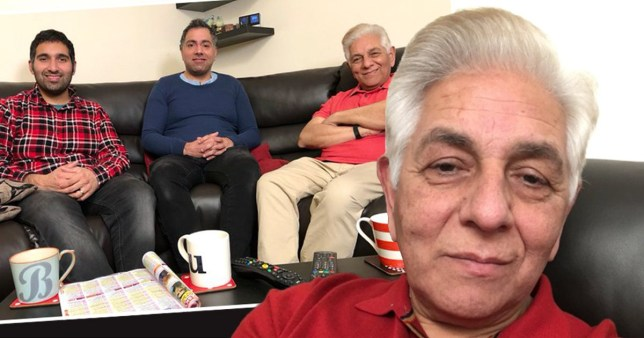 Gogglebox's Sid Siddiqui has the best reaction to comments on his new hair