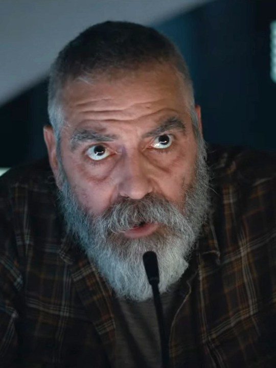 George Clooney as Augustine in The Midnight Sky