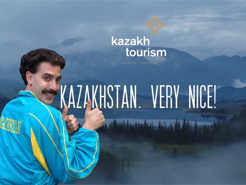 Kazakhstan adopts Borat's 'very nice' catchphrase for new tourism campaign