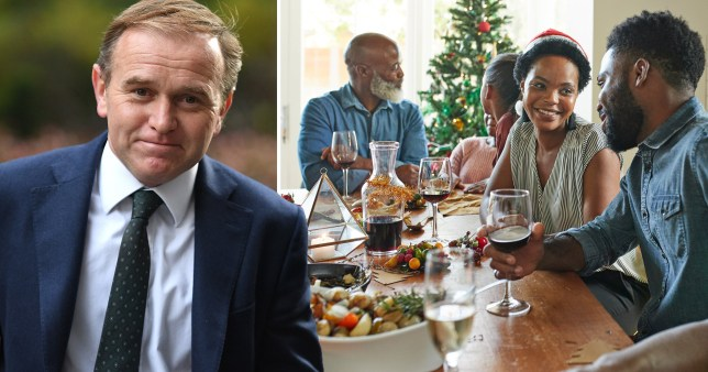 Cabinet minister George Eustice has said familes will be able to meet for Christmas - but not in large groups