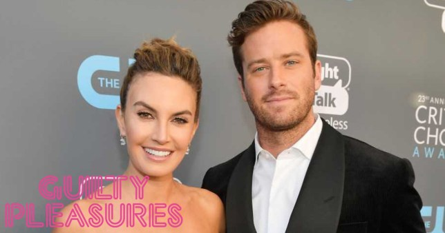 Armie Hammer and his wife