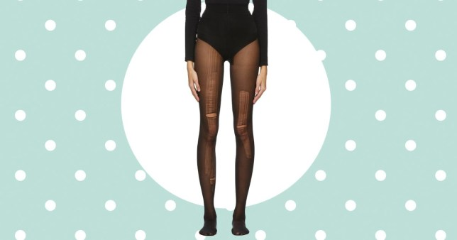 Gucci mocked on social media for selling distressed tights for eye-watering £145