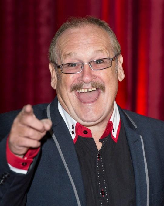 Bobby Ball on red carpet