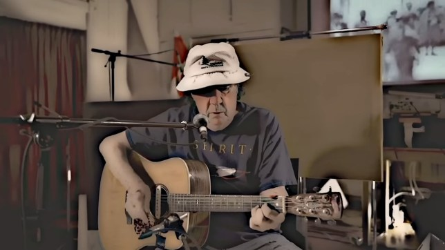 Neil Young's brother releases debut single aged 78 Young Bob & the Peterboroughs - Hey America