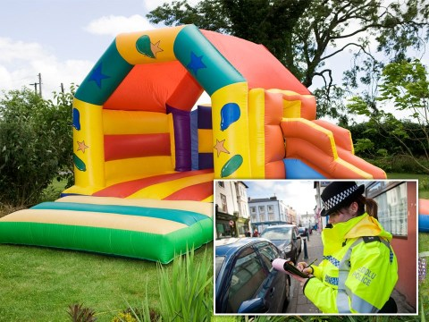 Man fined £800 for going to buy 'non-essential' bouncy castle in lockdown
