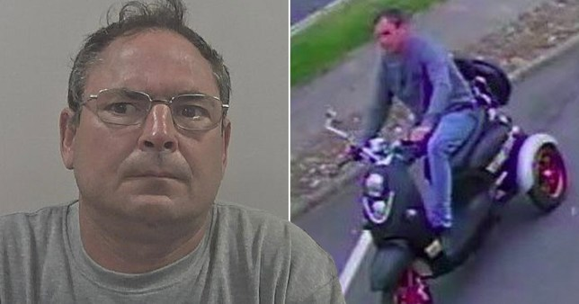 Girl stalked by man on mobility scooter who then launched attack in car park (Picture: Humberside Police)