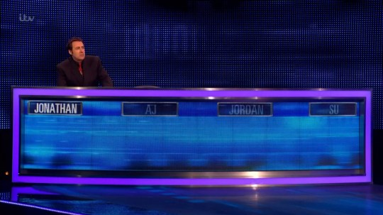 Jonathan Ross on The chase