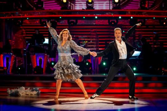 Anton Du Beke Strictly Come Dancing Jacqui Smith