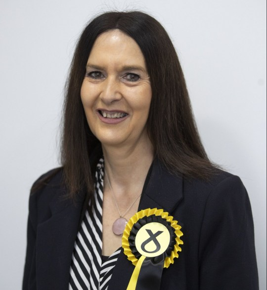 Margaret Ferrier, SNP candidate for Rutherglen. PA Photo. Picture date: Monday November 4, 2019. See PA story POLITICS Election Sturgeon. Photo credit should read: Jane Barlow/PA Wire