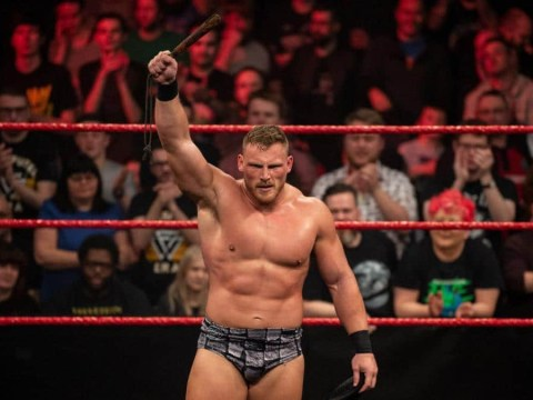 Watch WWE star Ridge Holland get stretchered out after suffering nasty injury on NXT