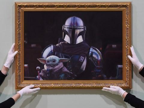 Star Wars: Mandalorian fans are loving the new Baby Yoda portrait