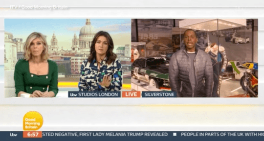 Susanna Reid, Kate Garraway and Andi Peters on Good Morning Britain