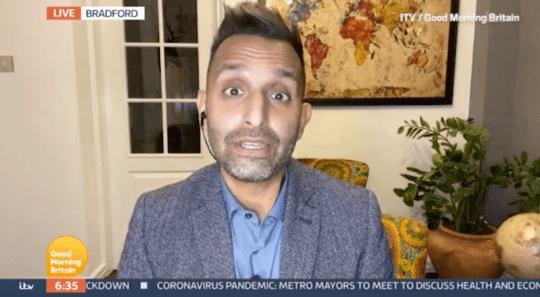 Dr Amir Khan on Good Morning Britian