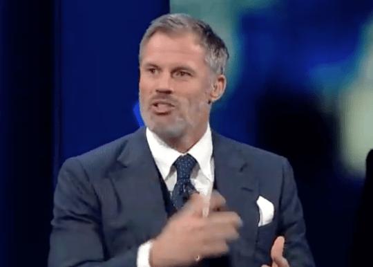 Jamie Carragher discute de l'incident sur CBS Sports
