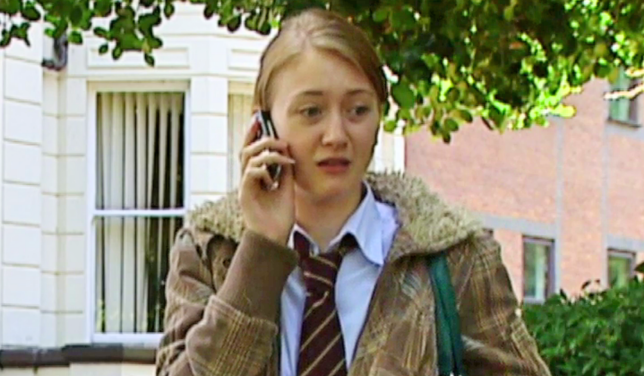 Amy Barnes in Hollyoaks