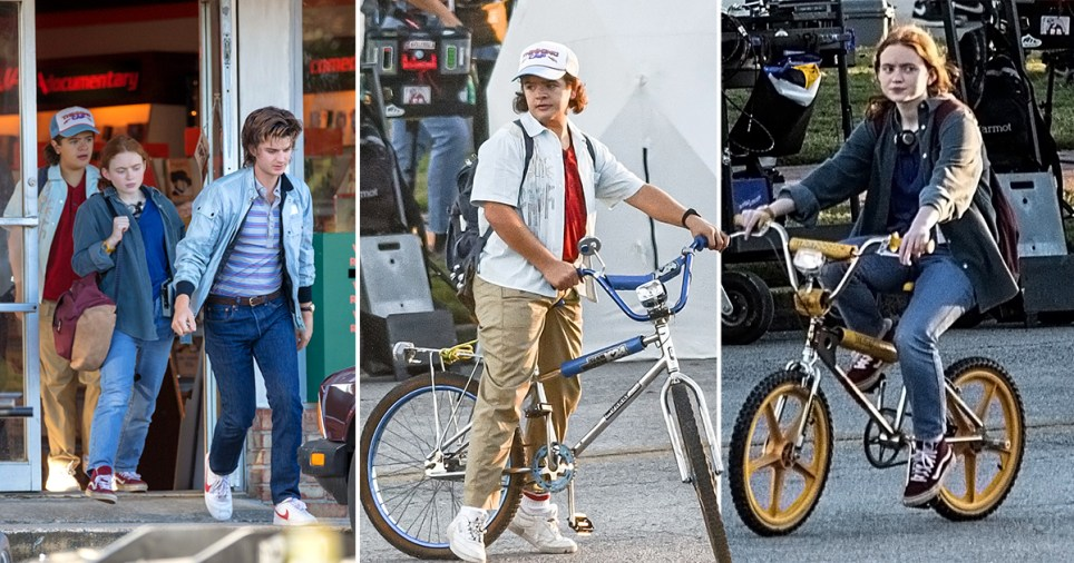 Stranger Things cast return to filming