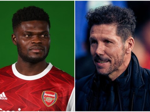 Diego Simeone sends message to Thomas Partey after Arsenal transfer