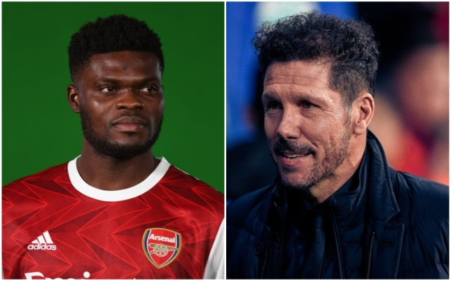 Diego Simeone admits Thomas Partey's move to Arsenal was out of Atletico Madrid's control