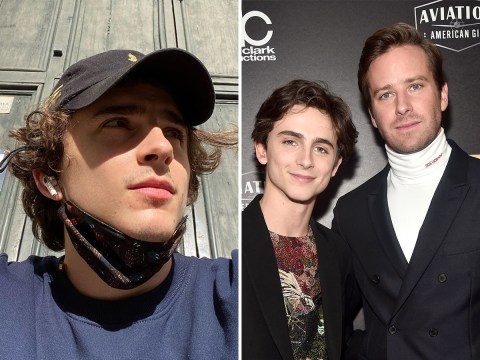 'Charmie' is back as Armie Hammer goes viral for posting aubergine emoji on Call Me By Your Name co-star Timothee Chalamet's selfie