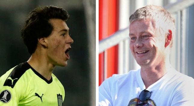 Ole Gunnar Solskjaer has hailed new Manchester United signing Facundo Pellistri