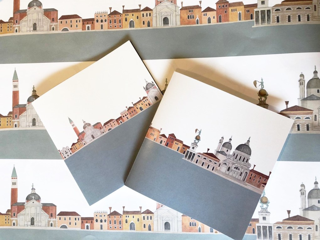 Domes and Doorways Notebook Venice