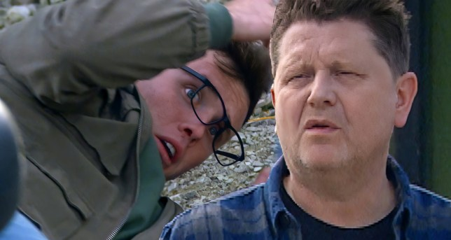 Vinny and Paul in Emmerdale