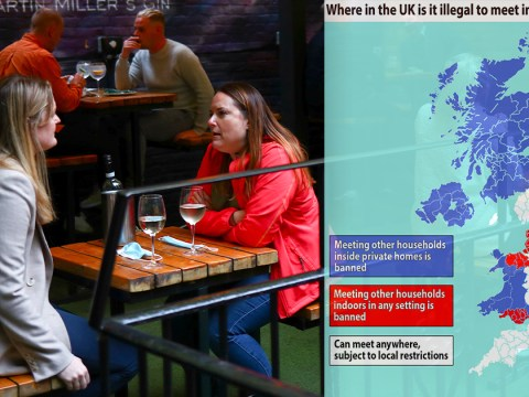 Where can you meet friends in the pub or at home? The UK lockdown rules explained