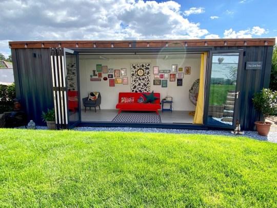 garden cabin diy