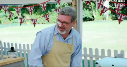 Marc on Bake Off