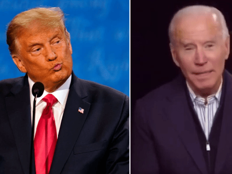 Joe Biden, 77, accused of forgetting Donald Trump's name during live appearance