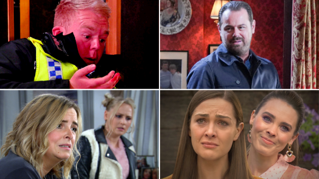 Craig in Coronation Street, Mick in EastEnders, Charity and Tracy in Emmerdale, Liberty and Sienna in Hollyoaks
