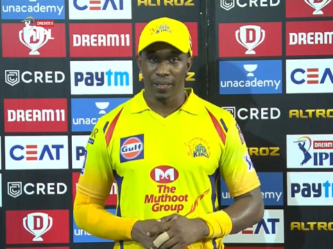 Dwayne Bravo hails Chennai Super Kings' bowlers after IPL victory over Sunrisers Hyderabad