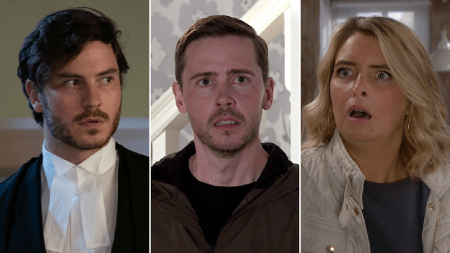 Gray in EastEnders, Todd in Coronation Street and Charity in Emmerdale