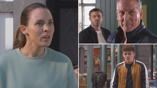 Liberty, Warren, Cormac, Yazz and Tom in Hollyoaks