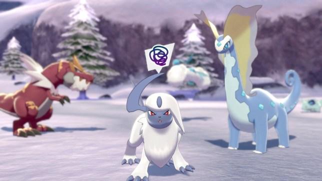 Pokémon Sword and Shield: The Crown Tundra screenshot