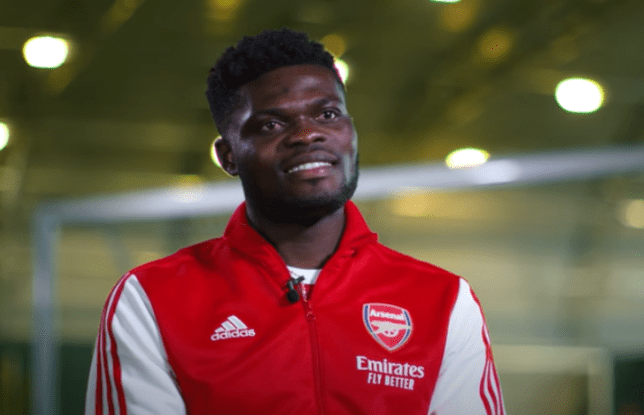 Thomas Partey could make his Arsenal debut against Manchester City this weekend
