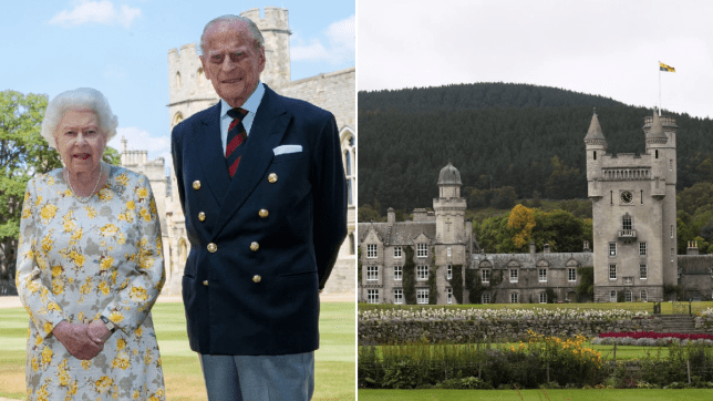 Queen got 'bored of twiddling thumbs with Philip' in Balmoral lockdown