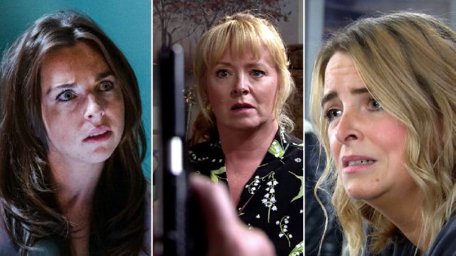 Ruby in EastEnders, Jenny in Coronation Street, Charity in Emmerdale