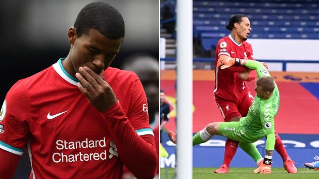 Georginio Wijnaldum slams 'completely stupid' Jordan Pickford and hits out at Everton after Virgil van Dijk injury