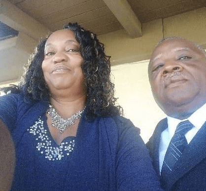 Gwendolyn Theus and her husband Billy